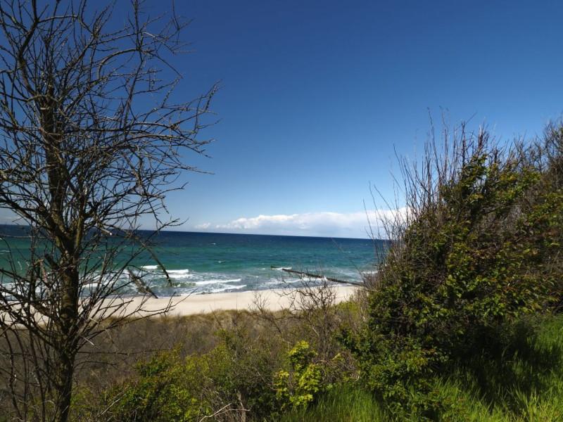 Schön, daß es im Nationalpark keinen einfachen Zugang zum Meer gibt. So bleiben solch einsame Strände erhalten