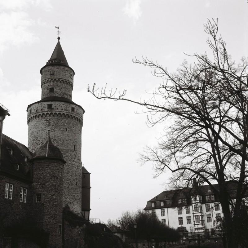 Hexenturm und landgräfliches Schloß