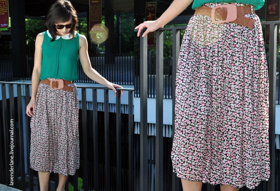 Flower Skirt5