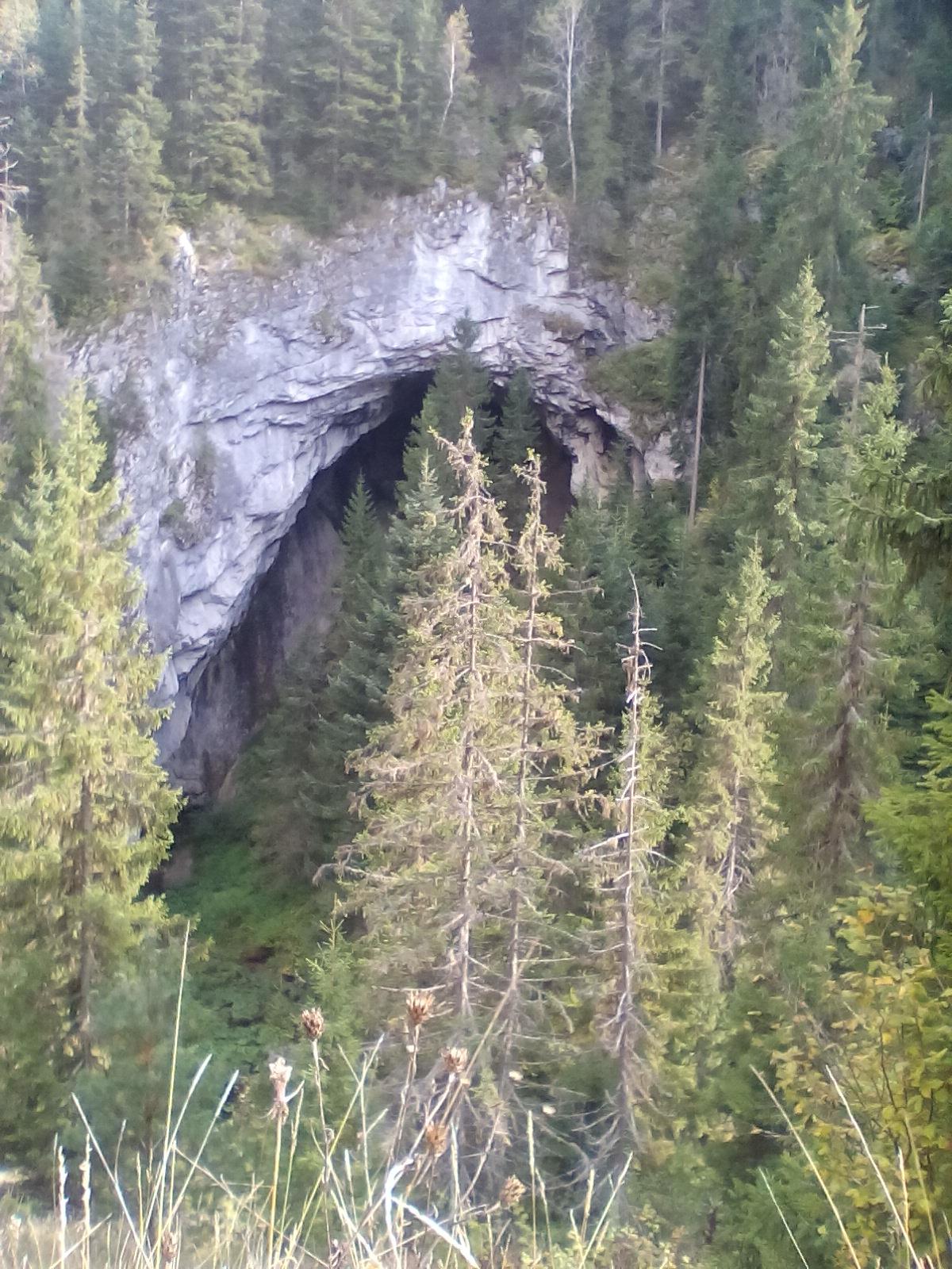 Поглед на пећину у Крњачи