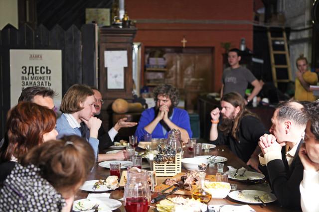 Заседание философов в Лавке