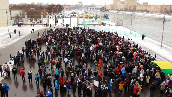 Митинг в Сокольниках 7 февраля