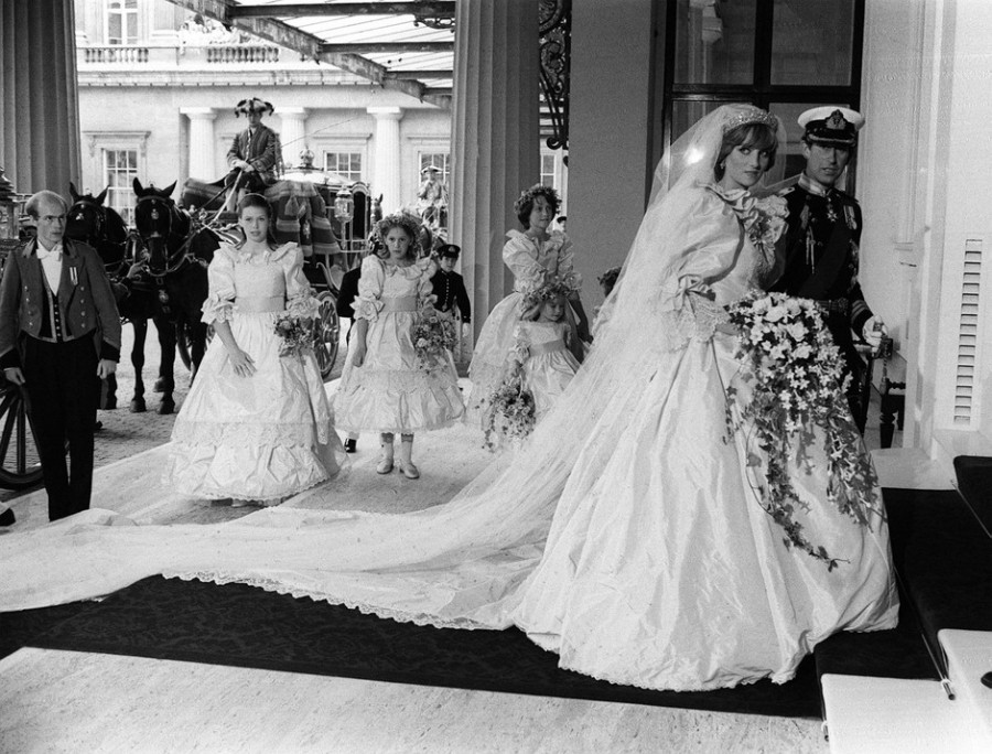 Годовщина свадьбы Диана и Чарльза Уэльских.