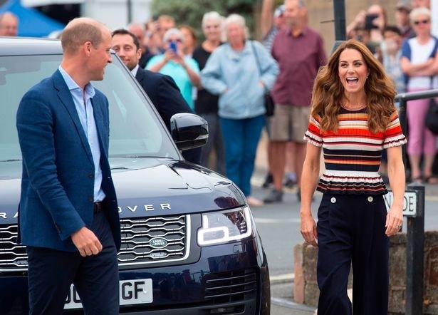Герцог и герцогиня Кембриджские на кубке королей.