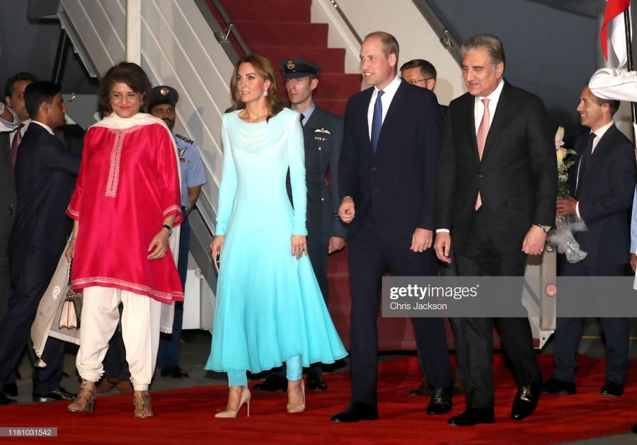 Пакистанский тур четы Кэмбриджей: день первый. Пост обновляется.