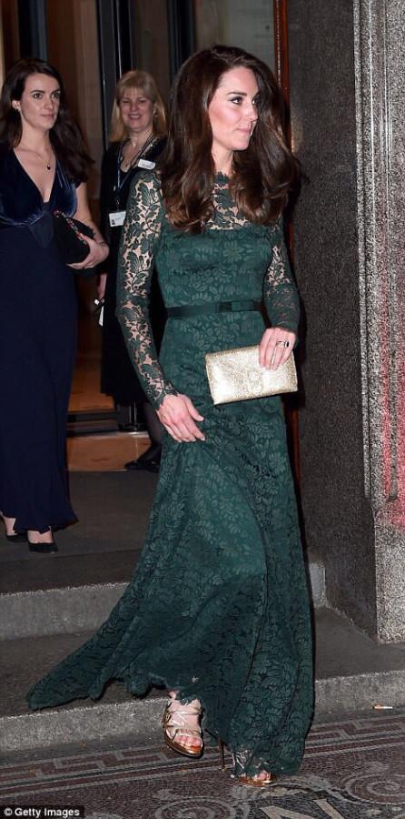 Герцогиня Кэмбриджская в прошлые визиты в Национальную галлерею