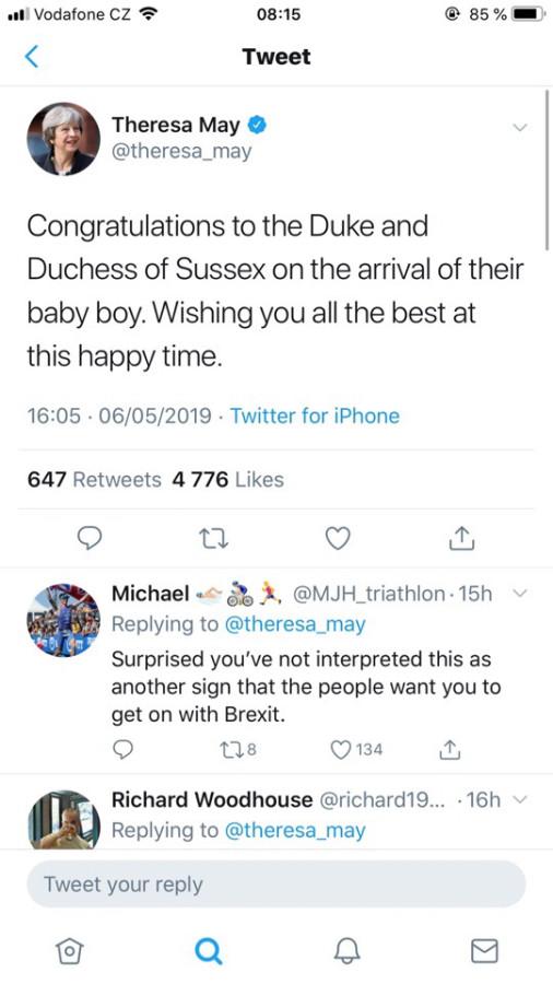 Немного про новости в связи с рождением baby Sussex