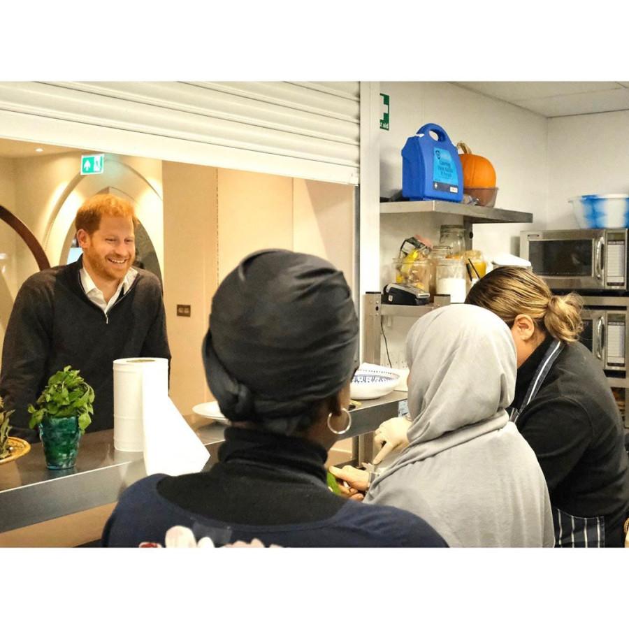 Фото с посещения Сассексами The Hubb Community Kitchen.