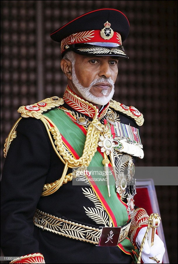 Скончался султан Омана