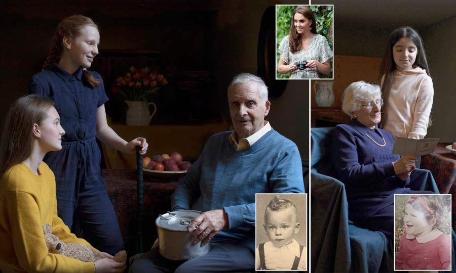 Новые фотографии от герцогини Кэмбриджской в рамках фотовыставки переживших