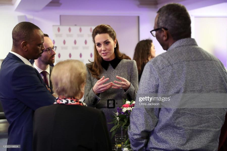 Герцог и герцогиня Кембриджские посещают церемонию в честь Дня Холокоста. Пост