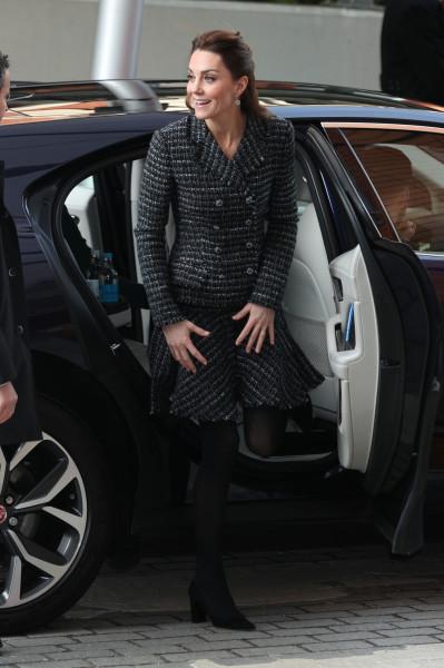 Герцогиня Кэмбриджская посещает больницу Evelina London.