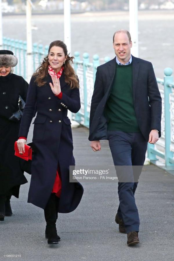 Герцог и герцогиня Кембриджские: визит в Южный Уэльс.