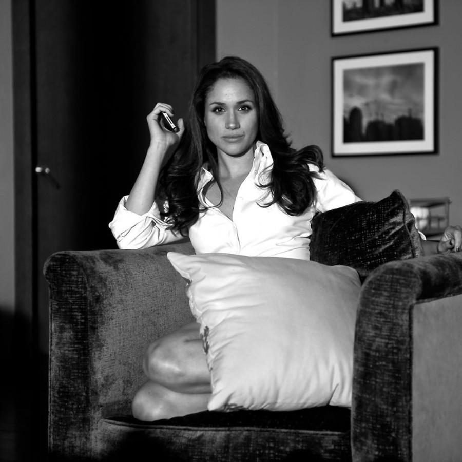 Новые старые фото герцогини Сассекской.