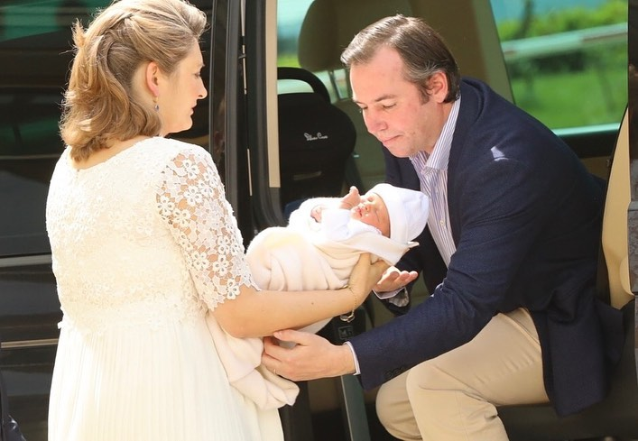 Фото с выписки наследной великой герцогини Стефании.