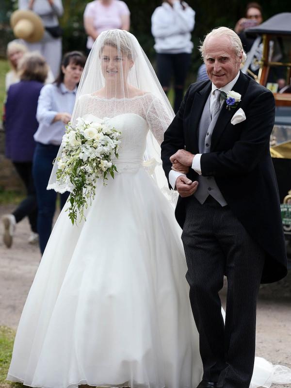 Два года со дня свадьбы Селии МакКоркодейл.