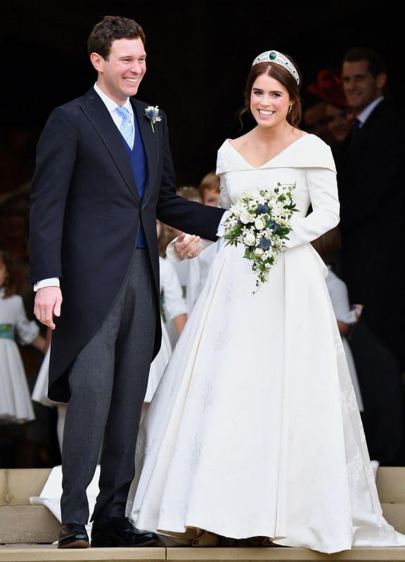 Топ культовых свадебных платьев от британского Vogue.