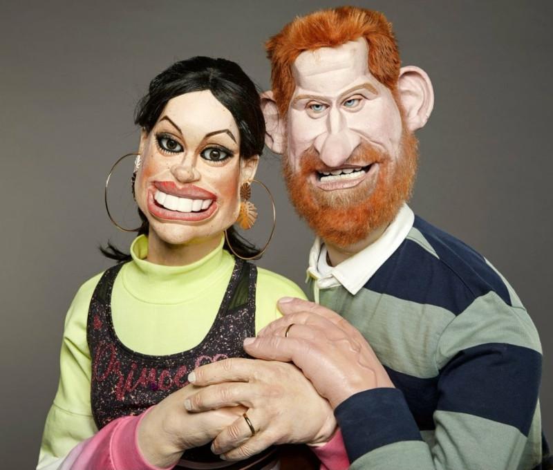 Новые куклы БКС для шоу Spitting image.