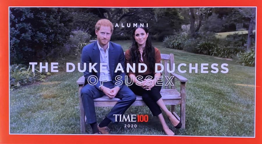 Гарри и Меган на Time100.