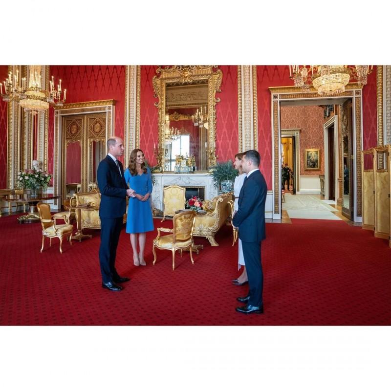 Аудиенция в Букингемском дворце.