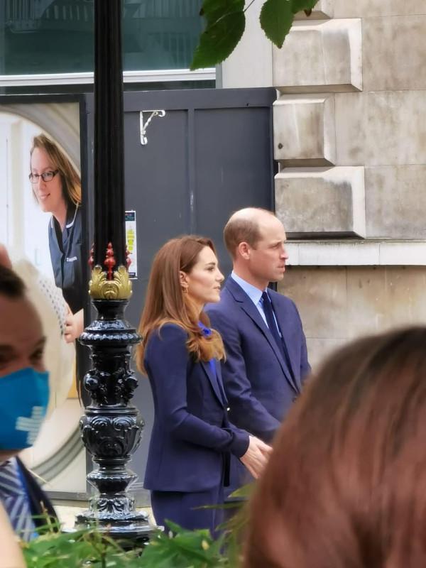 Герцог и герцогиня Кембриджские приняли участие в записи передачи для Pride of