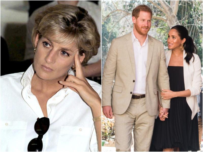 Принцесса Диана не связалась бы с Меган и пришла бы в ярость от Гарри, говорит