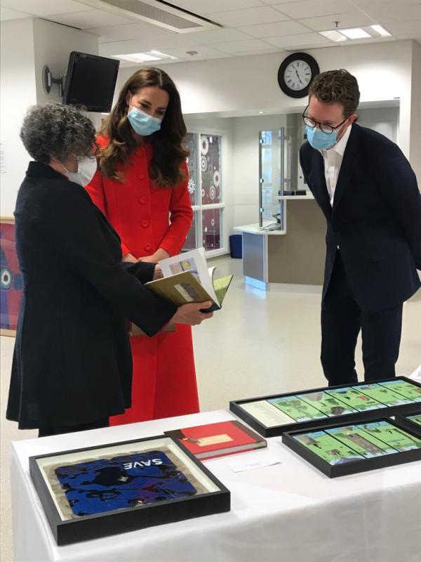Мероприятия герцогини Кембриджской в рамках поддержки выхода фотоальбома