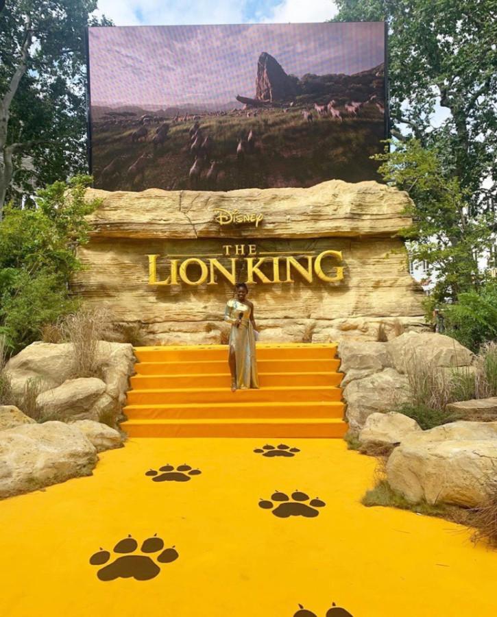 Премьера Короля льва в Лондоне.