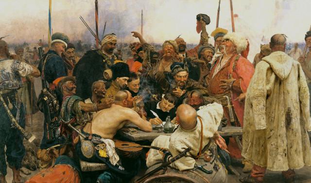 """Ռեպին """"Զապորոժցիները նամակ են գրում թուրքական սուլթանին"""""""