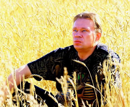 Я в поле пшеницы