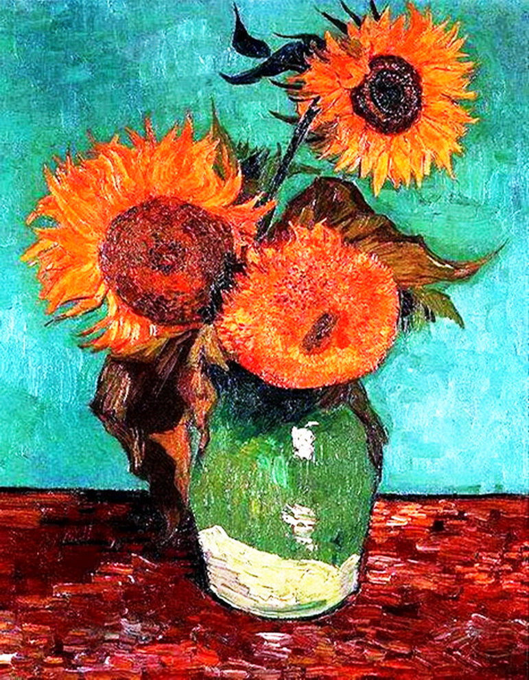 three-sunflowers-in-a-vase_новый размер