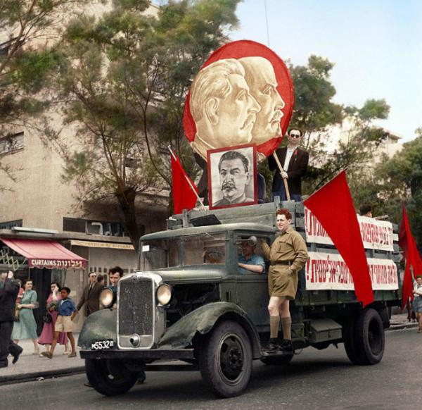 Демонстрация в Тель–Авиве, 1947 год.jpg