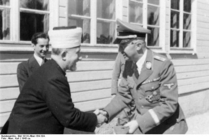 Два нациста: палестинский муфтий и Генрих Гиммлер