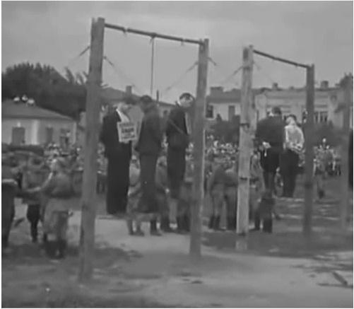 Кадр из общедоступного документального фильма посвящённого Краснодарскому процессу.