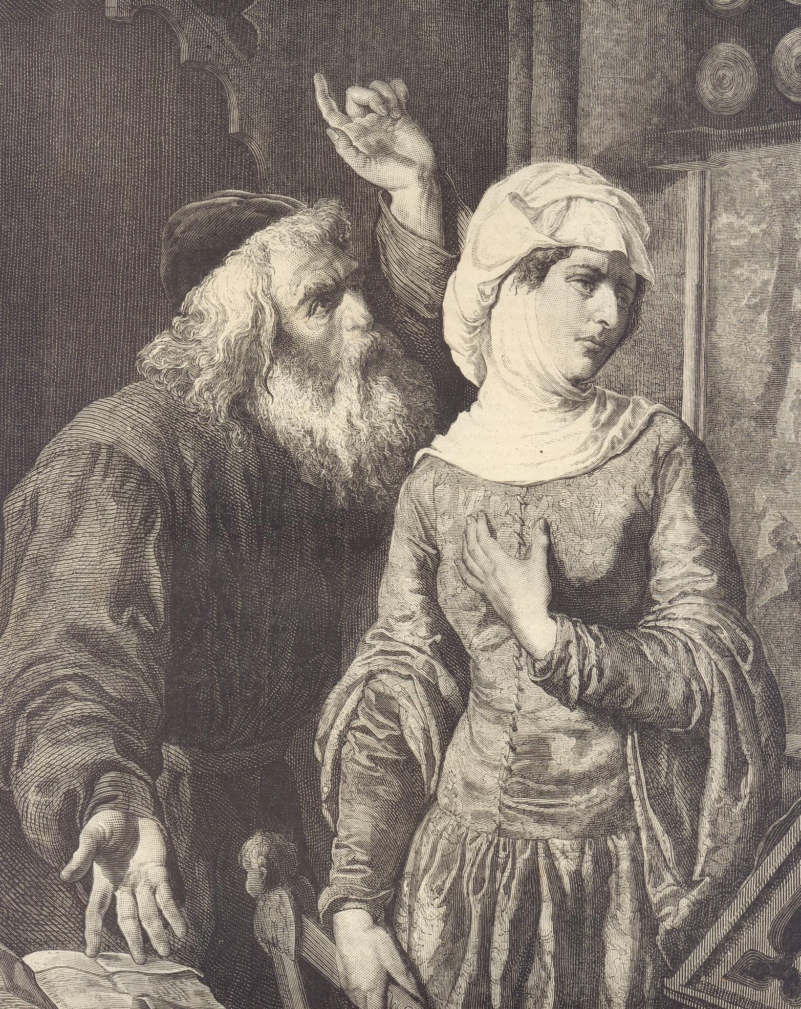 Войцех Герсон. «Эстер Малах». 1872-73 гг.