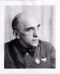 Яков Серебрянский в 1941 г.