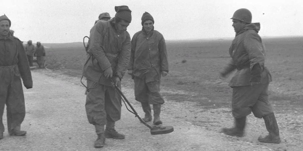 Израильские саперы во время Войны за Независимость.