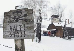 К моменту освобождения Освенцима живых евреев там почти не осталось.