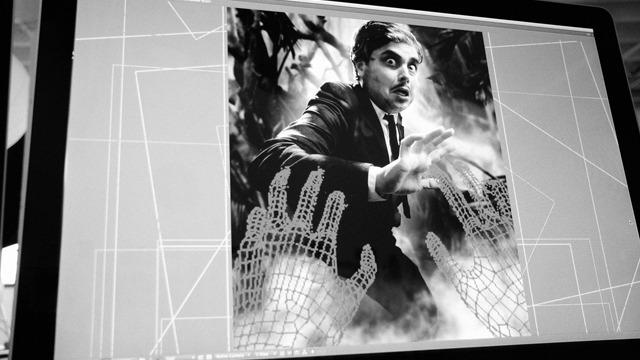 Les effrayants GIF en 3D de Monsters, Villains, Heroes And Victims
