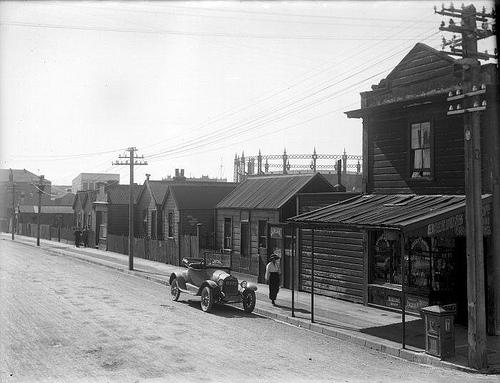 Tory Street, Wellington, ca 1922