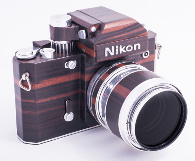 SNikon F2D: A Homemade Digital Nikon F2 Replica Crafted Out of Wood