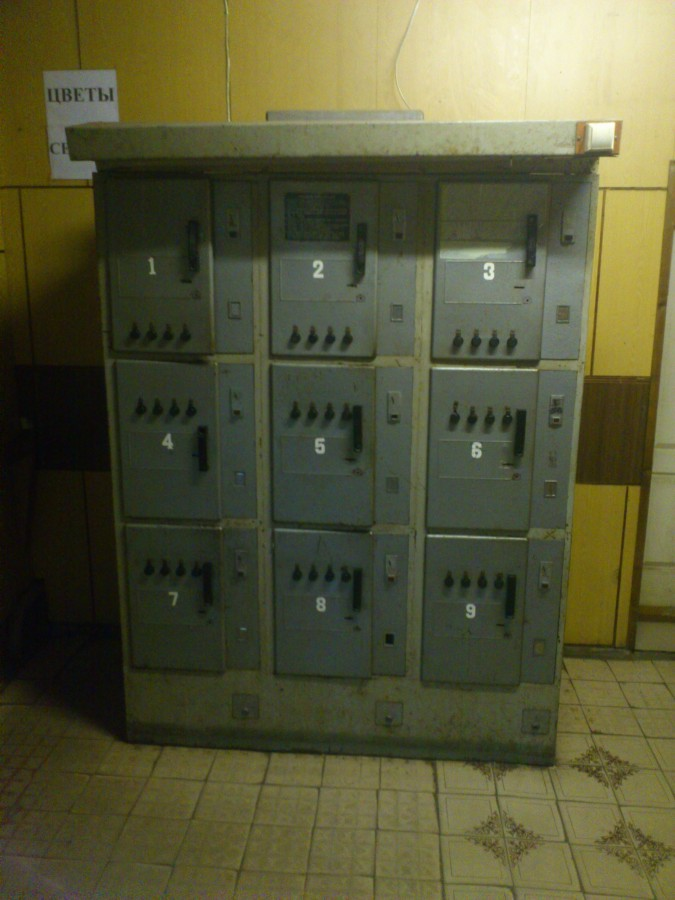 Советская камера хранения, а ля предок Вертера