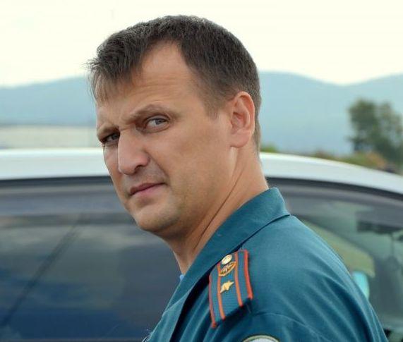 Андрей Горбунов в зоне ЧС с первого дня.
