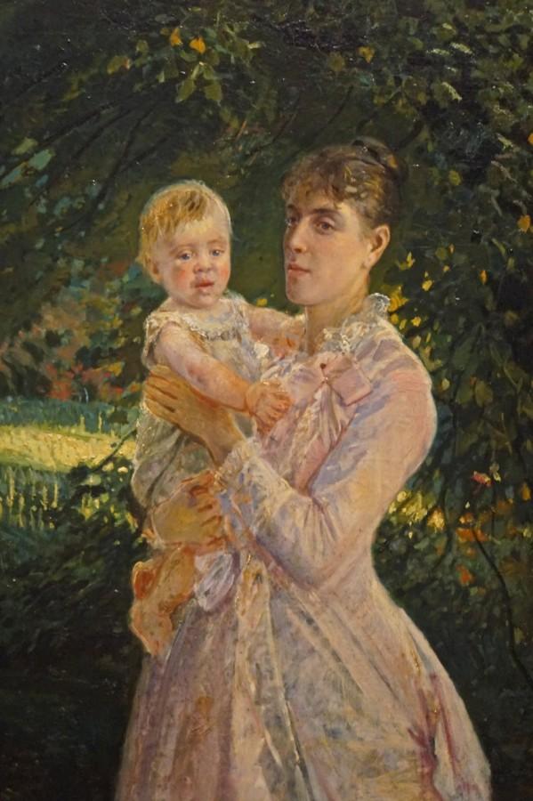 """DSC05317 - Н.Ге """"Портрет Екатерины Ге с сыном"""", 1885.jpg"""