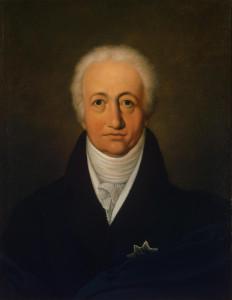 Goethe à l'âge de 69 ans