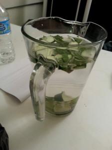 Fancy water!