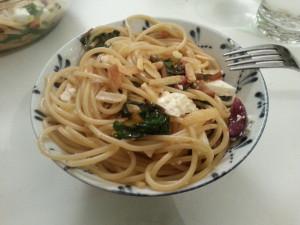 Chard pasta