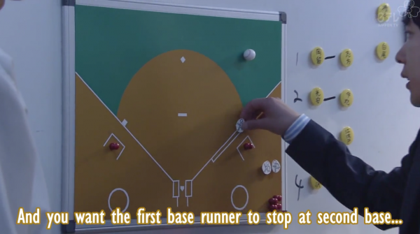 Yowakutemo Katemasu episode 3 baseball overview post: yowakutemo