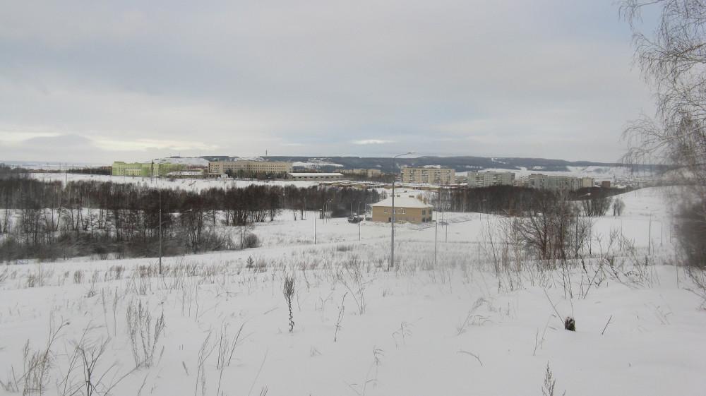 Вид на город с роллерки