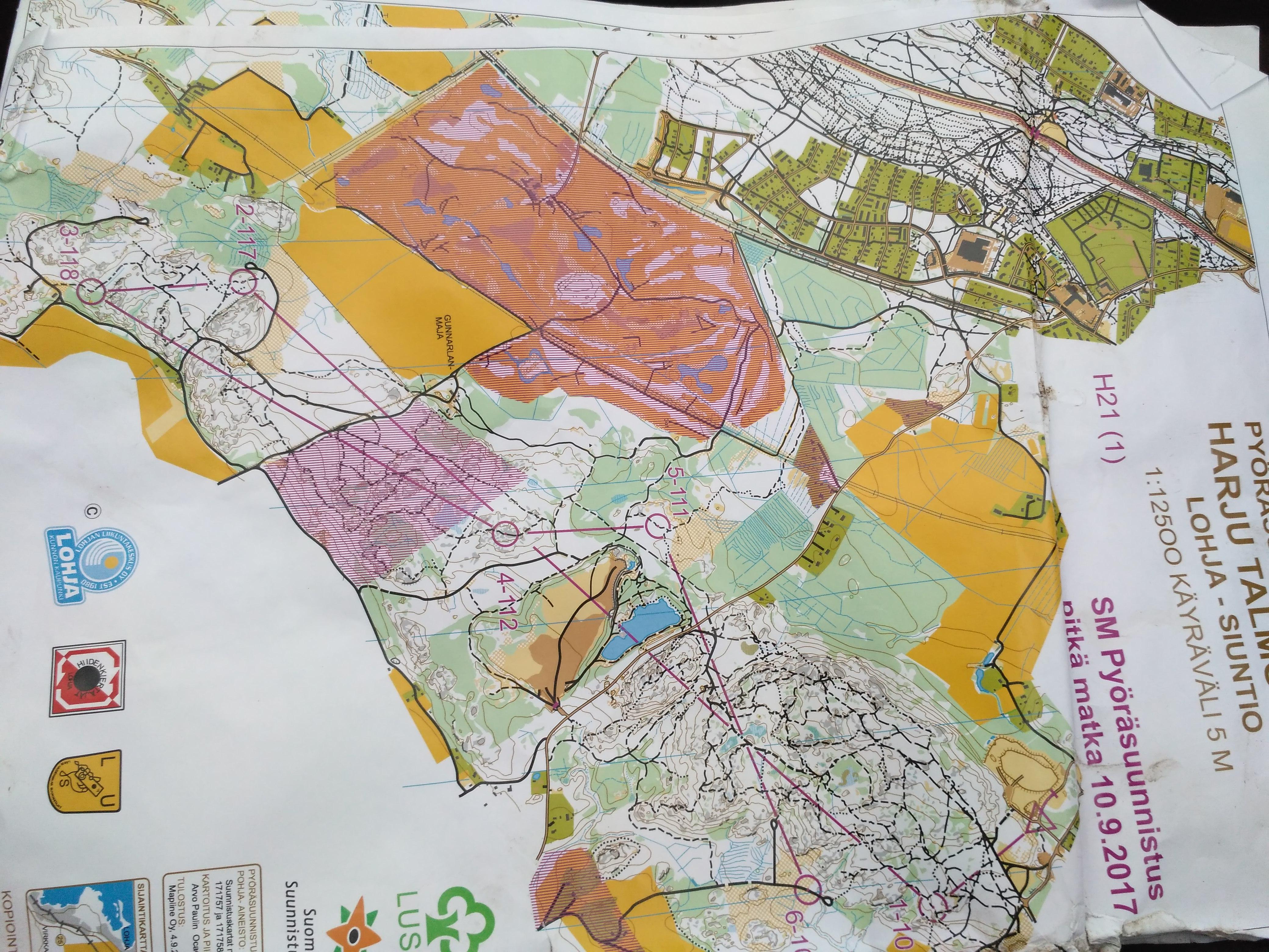 Карта лонга 1